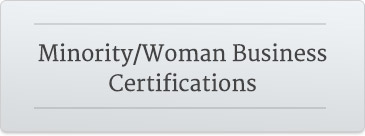 Minority/Women Business Certifications